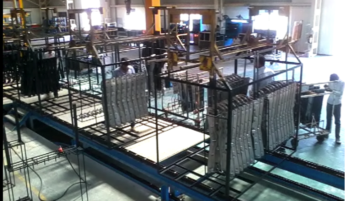 paint shop conveyor, floor conveyor, oven conveyor, oven chain conveyor