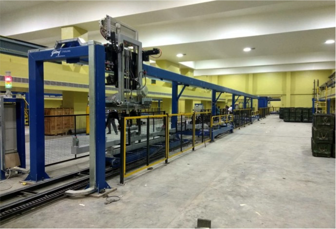 material handling conveyor, integrated handling system, pick and place machine, pick and place gantry, gantry robot
